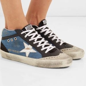 LTD Golden Goose Superstar Denim Sneaker